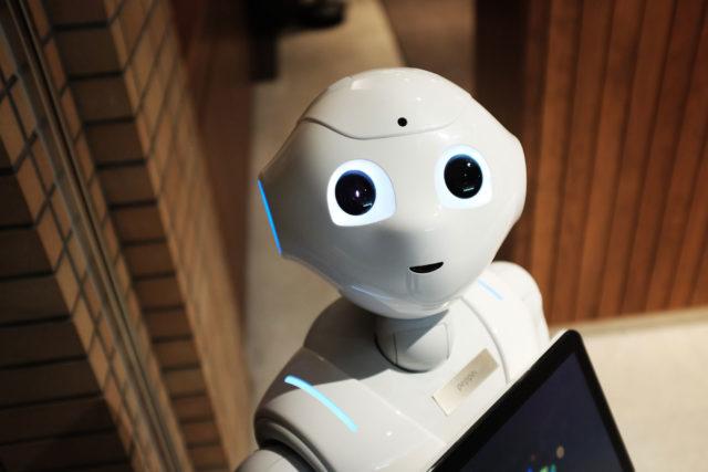 Robot-looking-at-camera