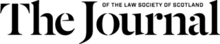 the journal of the law society of scotland logo