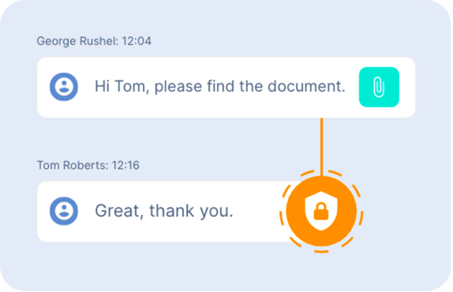 secure messages - The Link App
